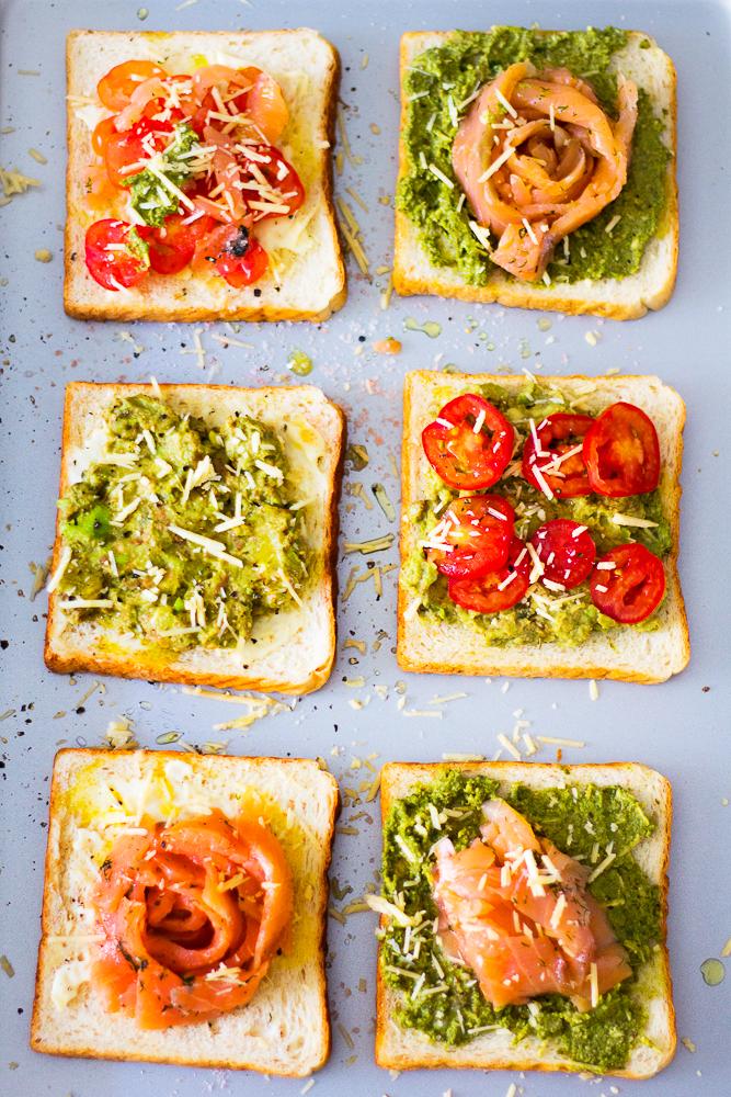3 ways Toasts