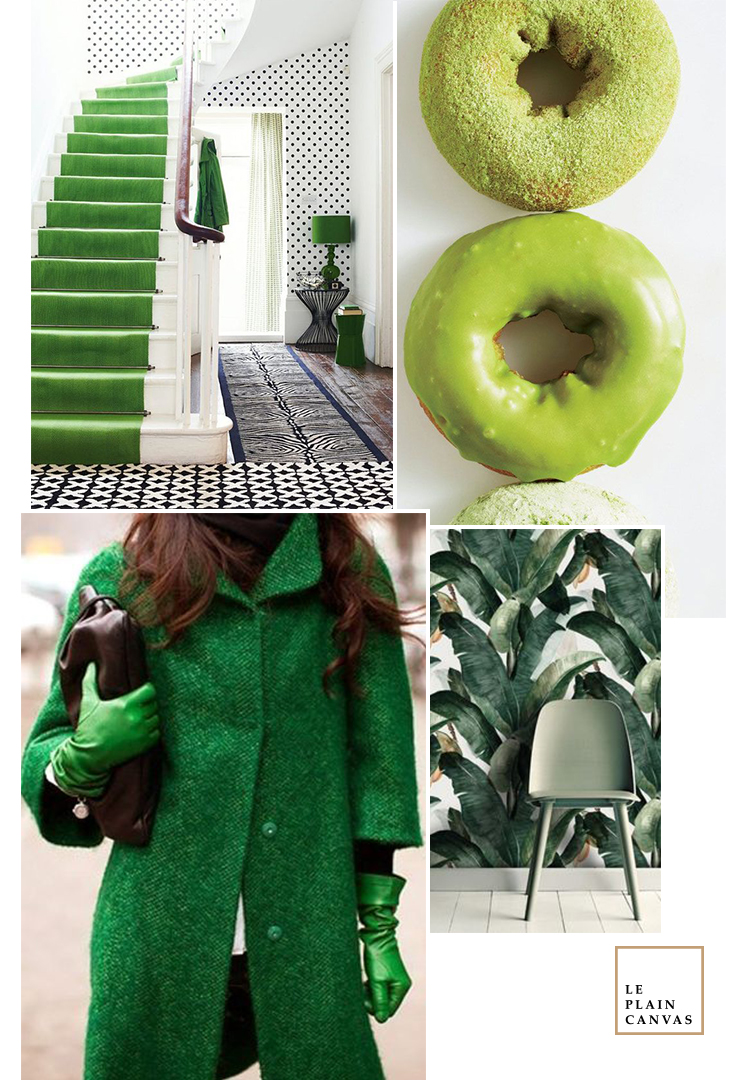 Mood Board | Green Trends