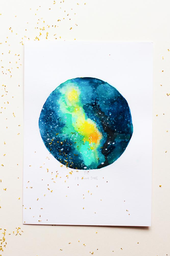 The Moon's Insight | Galaxy by Joe Leong