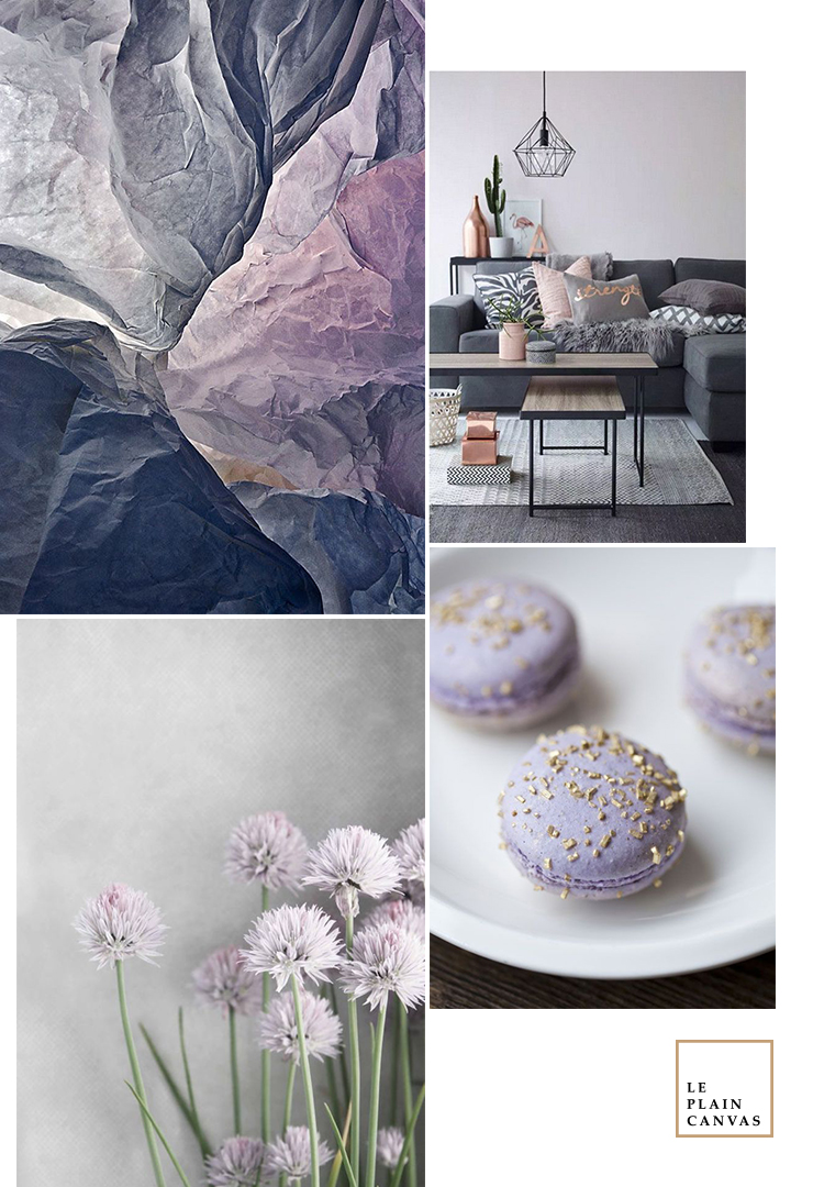 Mood Board | Lilac Grey by Le Plain Canvas