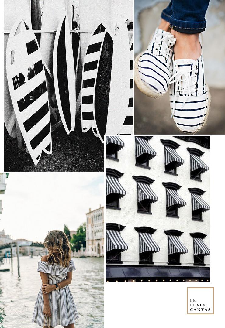 Mood Board | Love Stripes by Le Plain Canvas